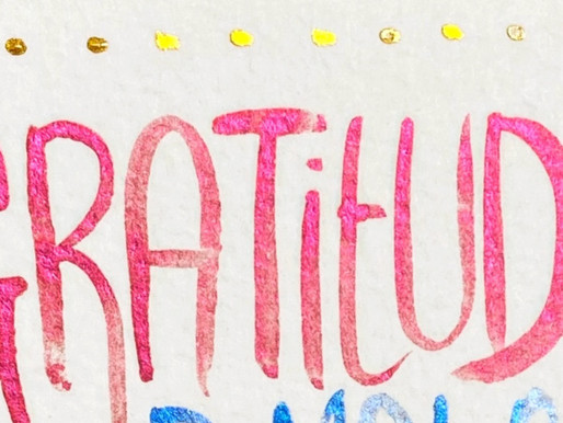 GRATITUDE AS AFFIRMATION & KEY TO ABUNDANCE