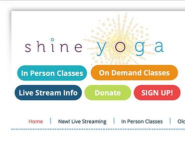 shine yoga launch pad