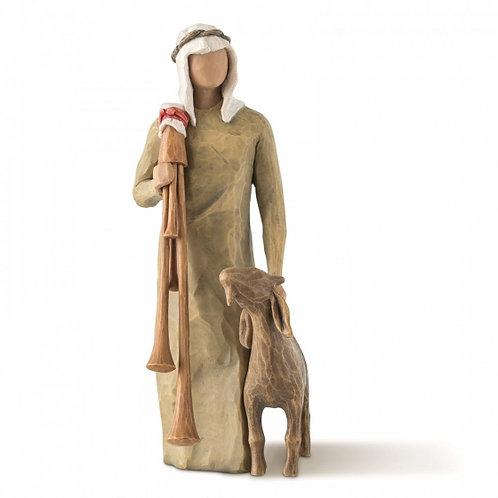Zampognaro (Shepherd with bagpipe) - Zampognaro (Pastor com uma gaita de foles)