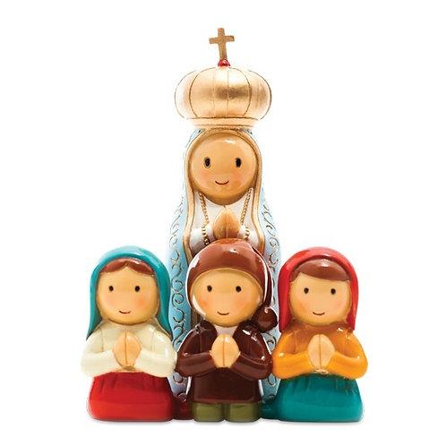 Nossa Senhora de Fátima e 3 Pastorinhos