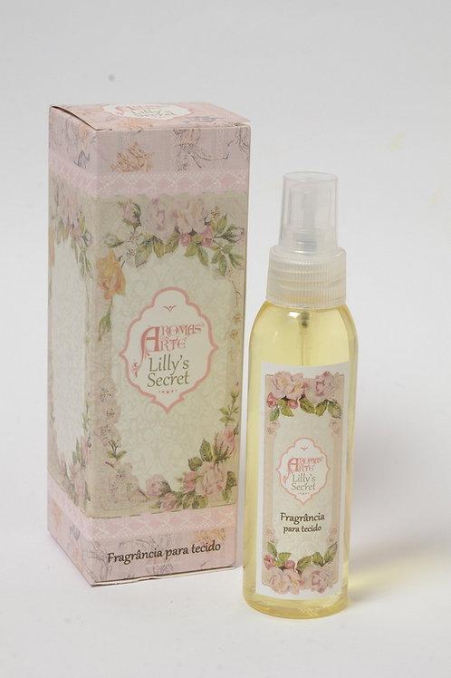 Fragrância para Tecidos Aroma Lilly's Secret