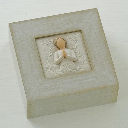 A Tree A Prayer Memory Box - uma árvore, uma caixa de memória de oração
