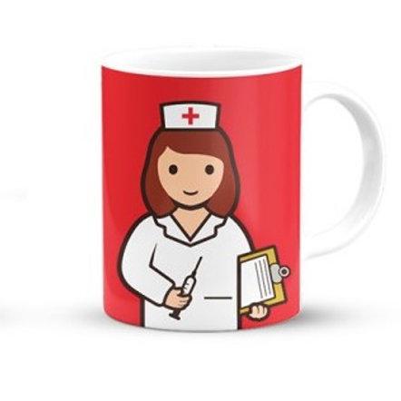Caneca - A melhor Enfermeira!