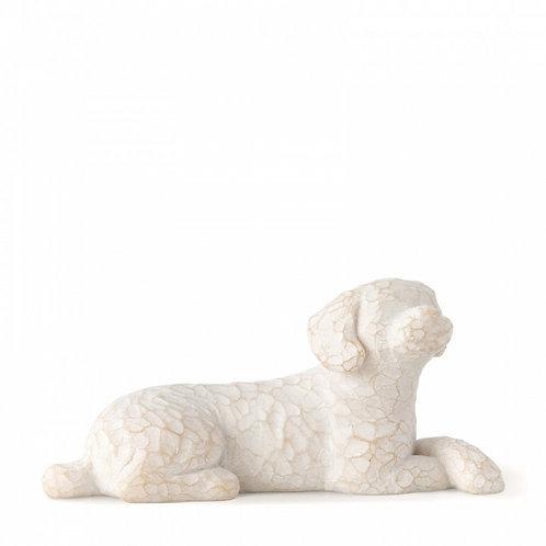 Love my Dog (small, lying) - Amo meu cachorro (pequeno, deitado)