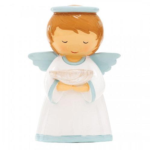 Batismo - Anjo da Guarda Azul (M-12cm)