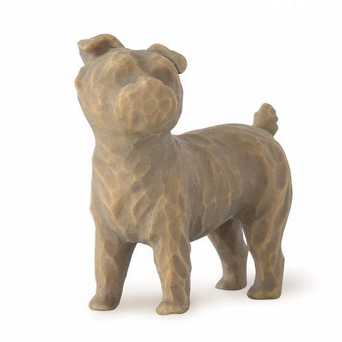 Love my Dog (small, standing) - Amo o meu cachorro (pequeno, de pé)