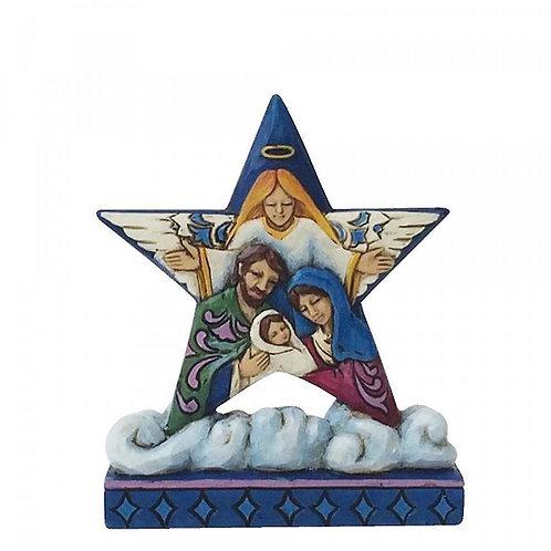 Natividade Estrela na Nuvem
