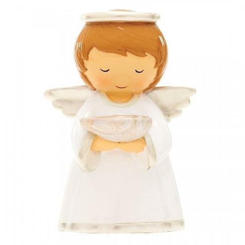 Batismo - Anjo da Guarda Pérola (M-12cm)