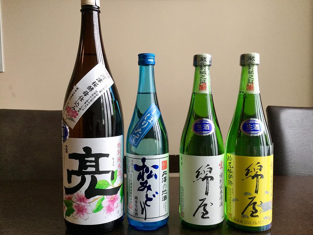 店長おすすめ日本酒