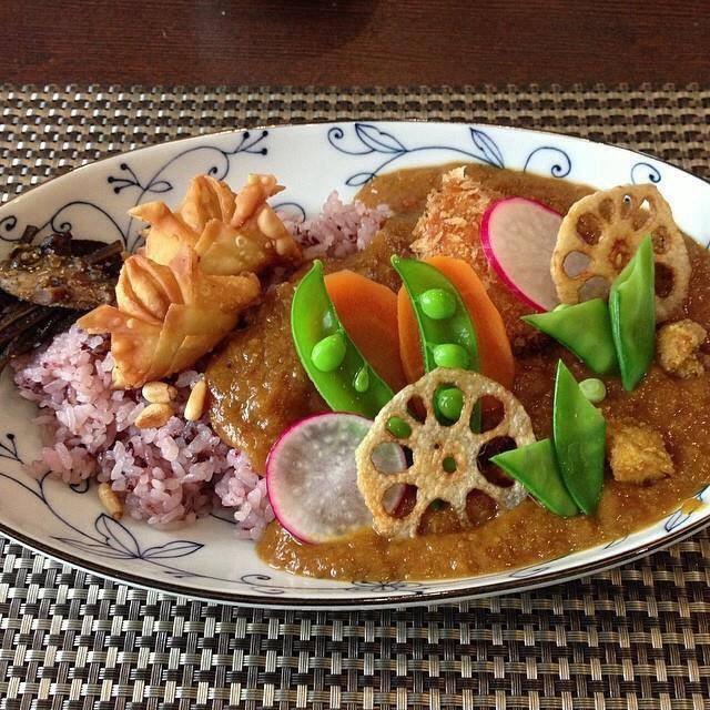 豆松カレー