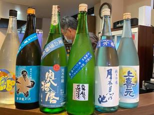 2020年8月の日本酒の会