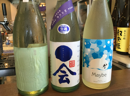 8月の日本酒ラインナップ