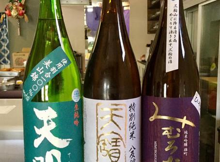 10月の日本酒ラインナップ