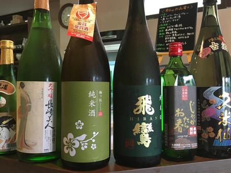 8月の日本酒の日報告