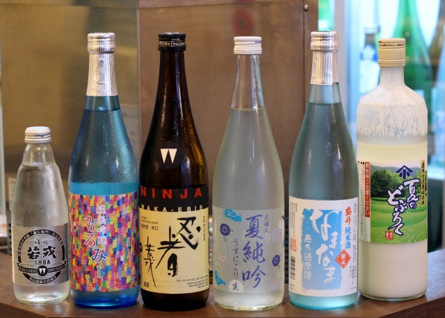 20187月の桜酒亭の日日本酒