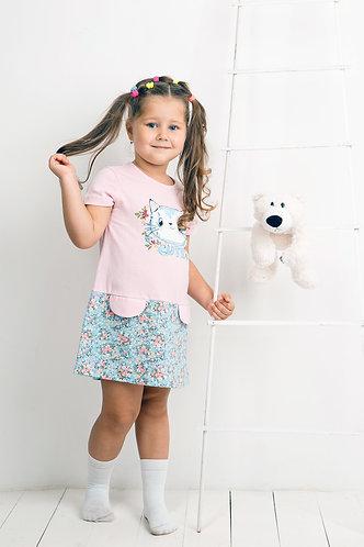 Платье для девочки Арт. 136