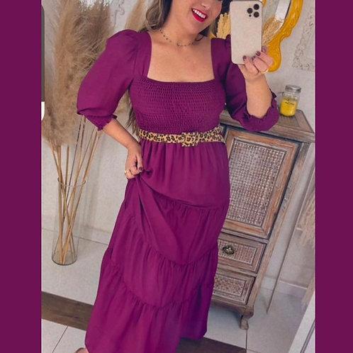 Vestido Pri - Marsala