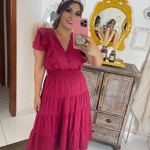 Vestido Íris - Pink