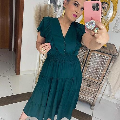 Vestido Íris - Verde