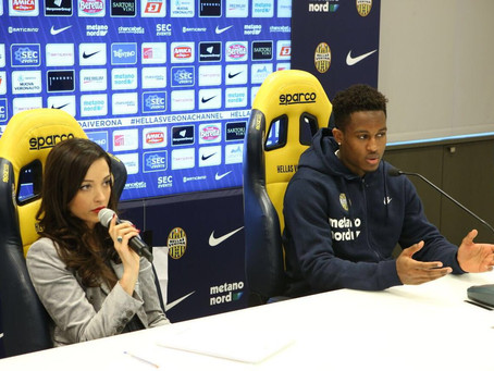 Rolando Aarons speaks about his loan to Italy