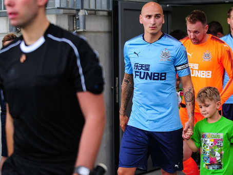 Jonjo Shelvey on facing his old club
