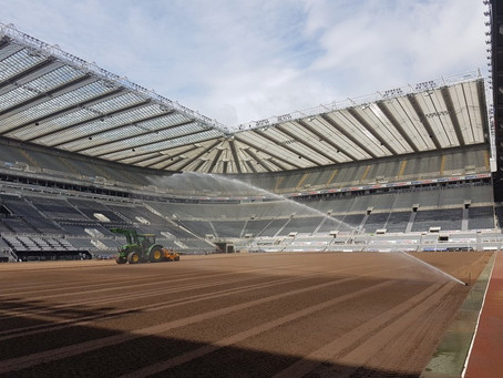 Stadium Manager Eddie Rutherford speaks about the condition of St. James' Park