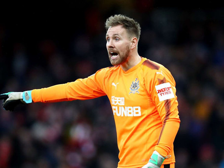 Rob Elliot happy with the fight shown against Arsenal