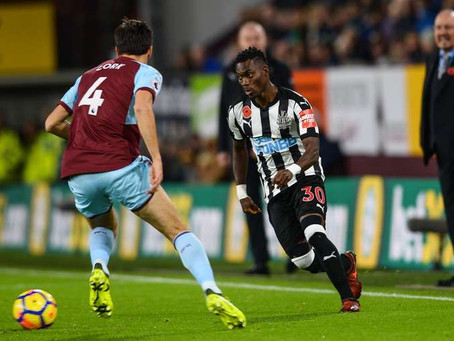 Christian Atsu says he has nothing to prove to former club