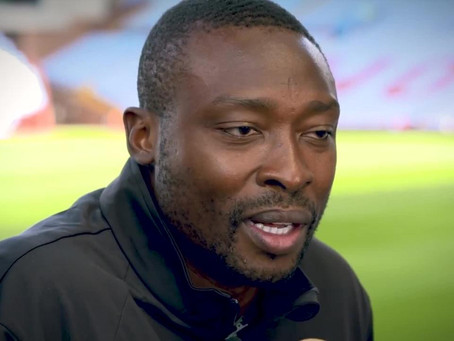 Shola Ameobi on giving his time back for The Foundation