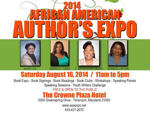 Featured Author at the AAA Expo!