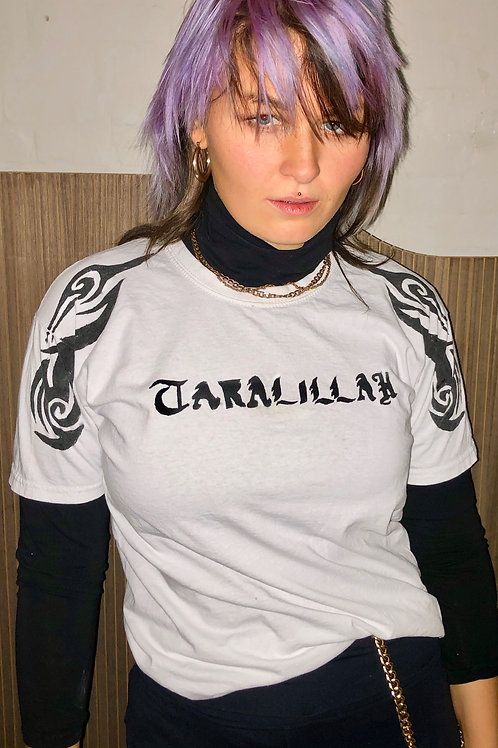 Taralillah // White Tribal Batik // T-shirt