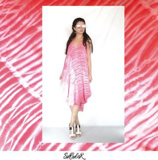 Vestido Luz Cereza