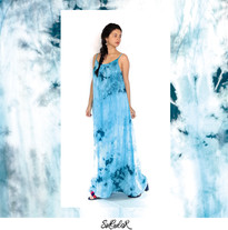 Vestido Polvo Estelar Azul