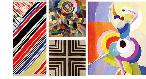 singular arte abstracto sonia delaunay a