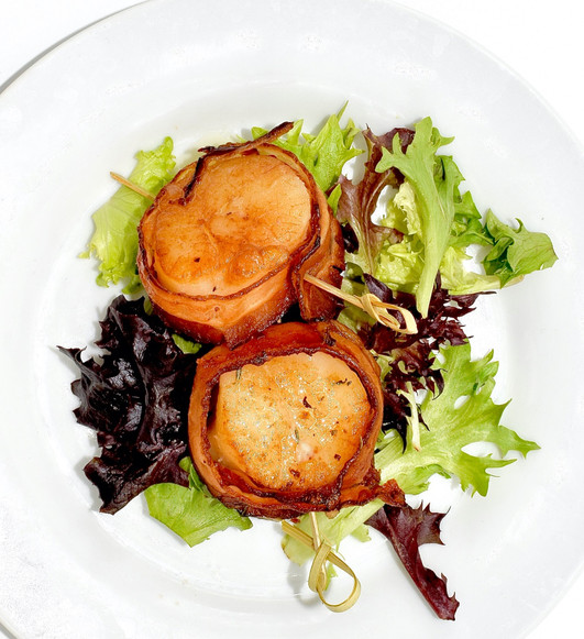 BACON WRAPPED SCALLOPS- ARE A KELLI'S CATERING DELIGHT
