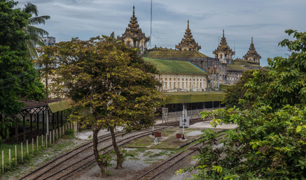 Yangon Central Railwaystation