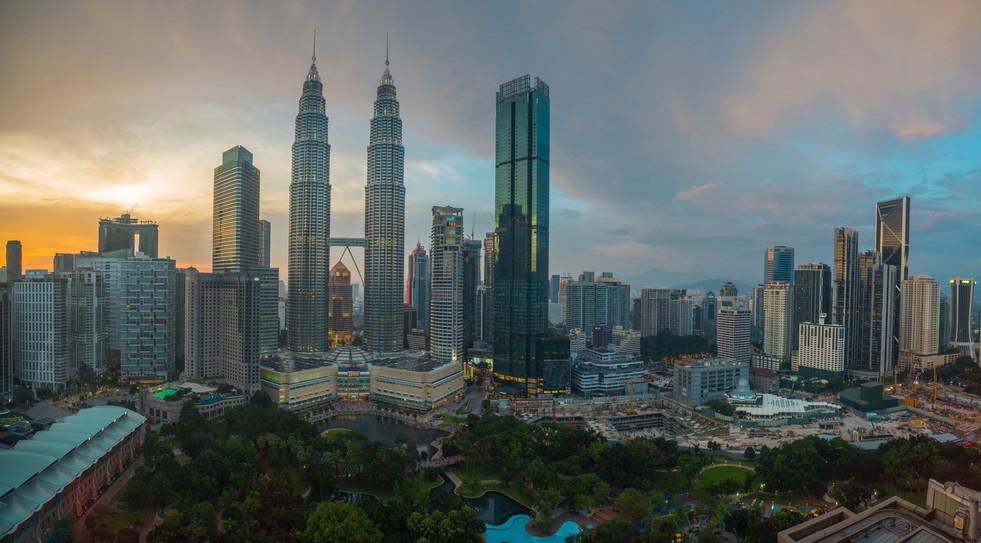 Kuala Lumpur Skyline @ Dwn