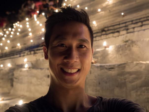 Me at the socket of the Myathalun Pagoda