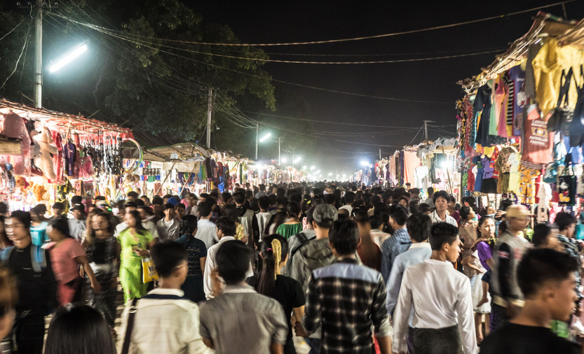 Festival Street market