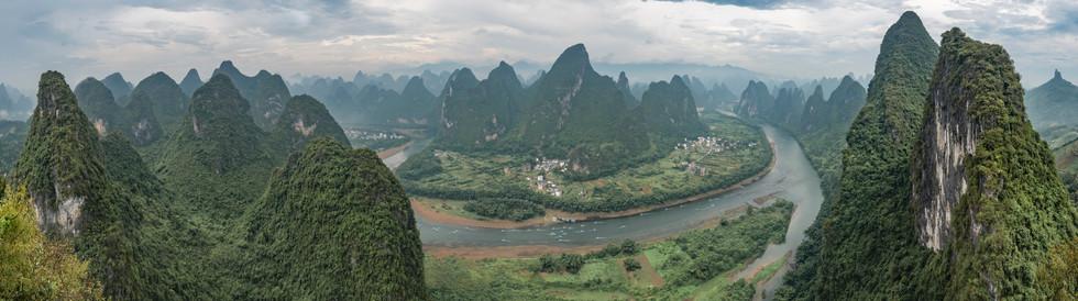 View from Xianggong Mountain 2