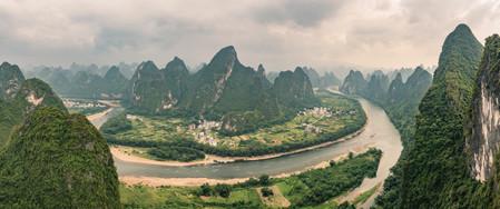 View from Xianggong Mountain