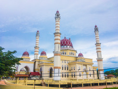 Jerteh City Hadhari Mosque