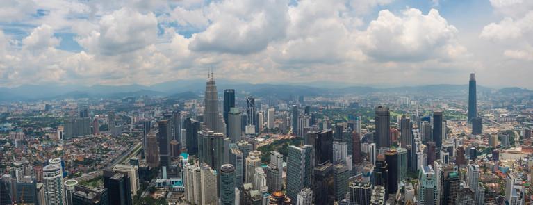 KL bird's view from KL Tower