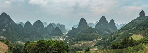 On the way from Yangshuo to Xianggong Mountain 2