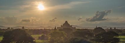 My First Bagan Sunset