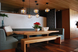 Dining Table and Banquette