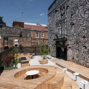 Garden at The Binary by Fabrix, SE1