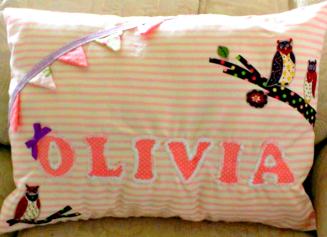 Personalised Name Fun Cushion