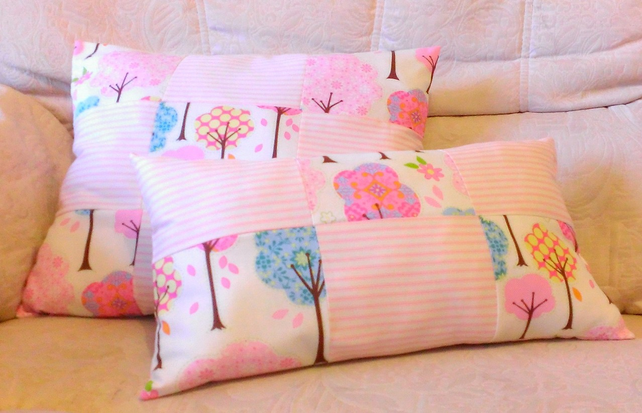Patchwork/Memory cushions