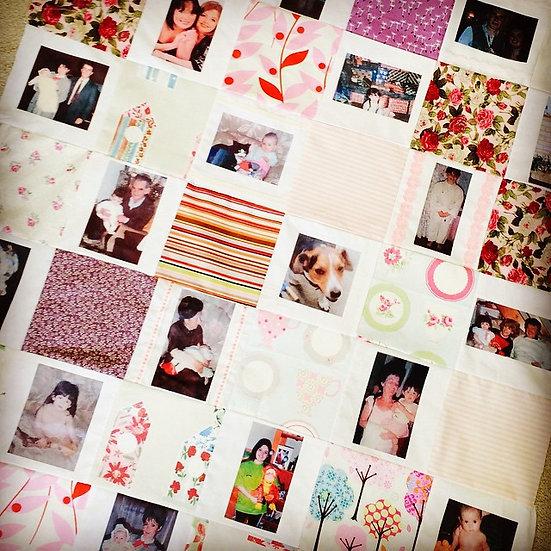 Photo Quilt or Cushion